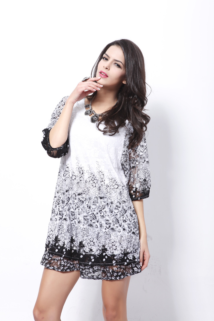 Lace Vintagedress(Picture Color - One Size) NHDF0324-Picture Color - One Size