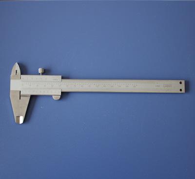批发供应整體不鏽鋼遊標卡尺 划线刻度尺0-150mm遊標卡尺