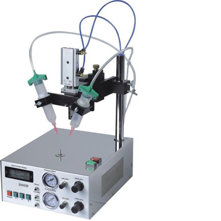 厂家生产双头圆形打胶机听筒打胶机喇叭专用点胶机品质保证