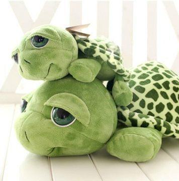 厂家直销爱情公寓大眼睛海龟毛绒玩具大号乌龟公仔玩偶