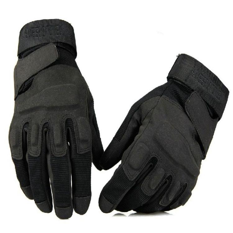 黑鹰全指手套 O记运动防割手套户外 批发运动骑行战术军迷手套