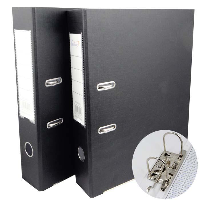 办公用品文具A4文件夹快劳夹二寸三寸两孔活页文件夹资料夹档案夹
