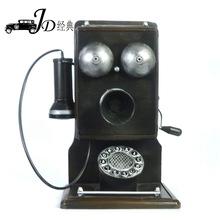 金属工艺品 仿古老式电话机酒吧咖啡厅装饰店面家居礼品摆件