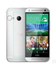 新款供应HTC M8 MINI钢化玻璃膜 HTC MINI 2玻璃膜 防爆玻璃膜