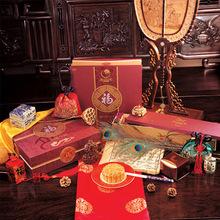 厂家定制 高档月饼包装袋 桥墩月饼礼盒包装 烫金满版印刷月饼盒