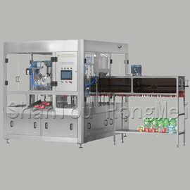 汕頭榮美供應定制食品灌裝機械 全自动果汁灌裝封口機械
