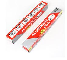 Đóng gói 10 m chất lượng cao cấp thực phẩm giấy nhôm nướng lá lá nướng các nhà sản xuất giấy bạc nướng nấu ăn Dụng cụ nướng