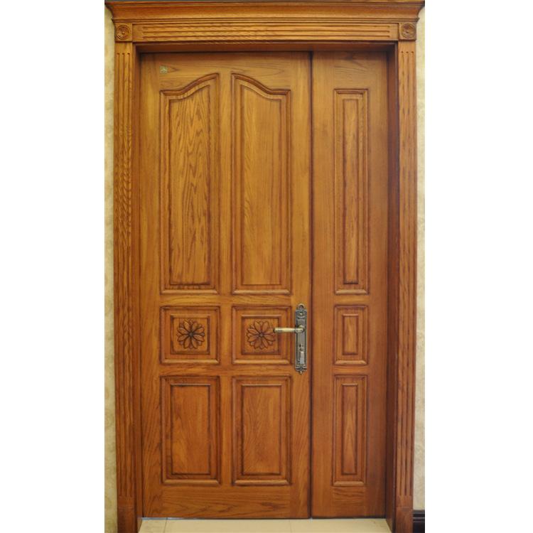 森雕整木家装 供应室内子母门  原木双开门