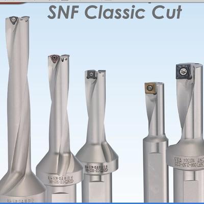 授权代理台湾SNF快速钻C32-SP30/4D 高效孔加工钻头 U钻 现货批发