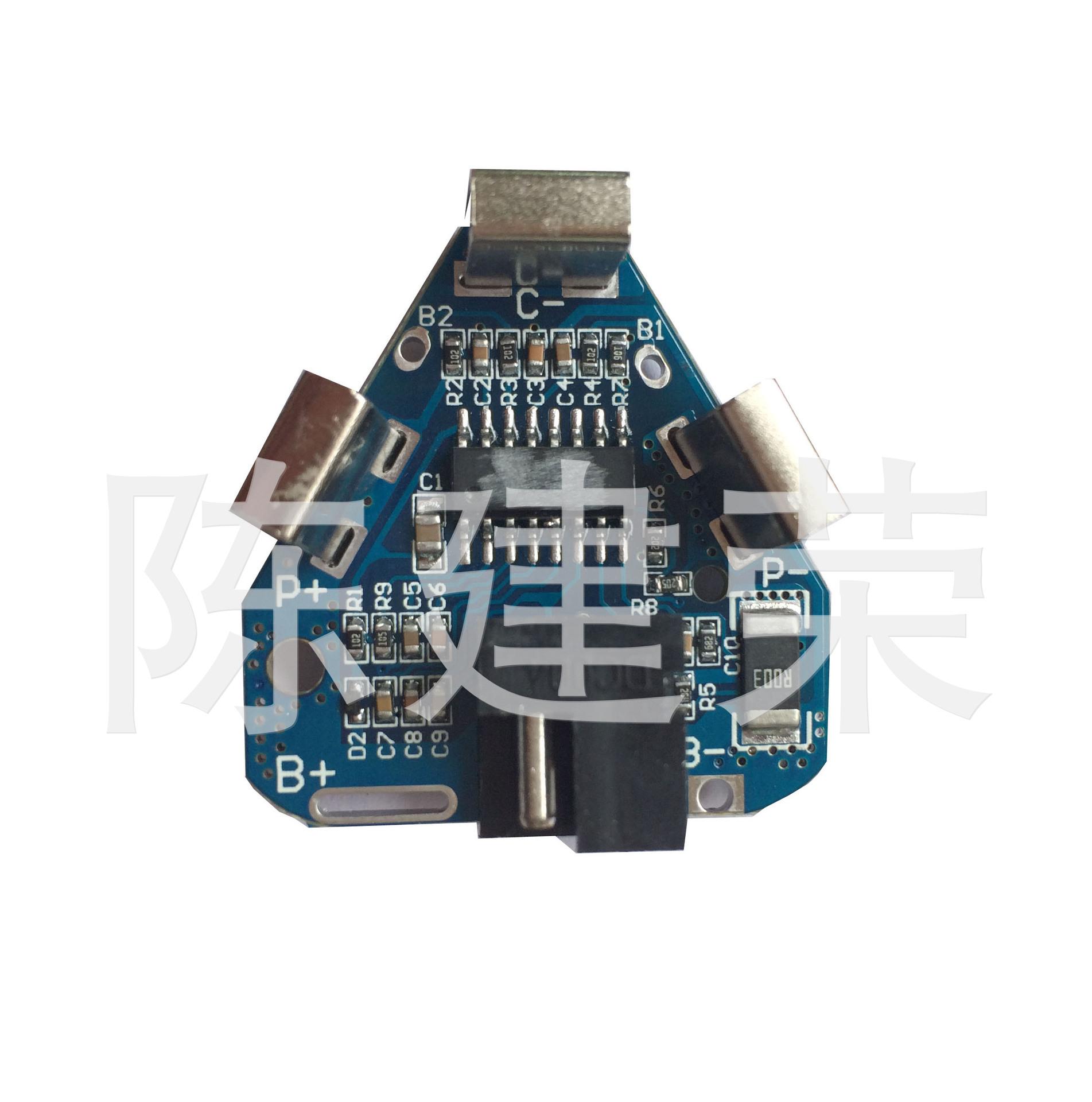 厂家直销 三串电动工具保护板 3串10.8V12.6V18650锂电池保护板