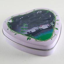 厂家供应 心形马口铁蜡烛罐 香薰蜡烛盒 铁盒加工定制