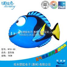 工厂定做 吹气动物 玩具店热卖 吹气热带鱼小丑鱼 儿童最喜爱产品