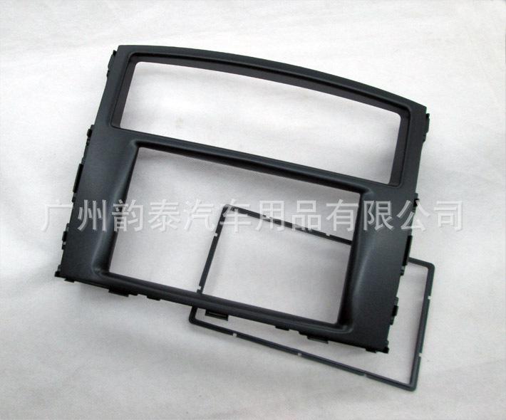 适用三菱帕杰罗面框 改装音响DVD导航面板 改装框 通用机改装面板