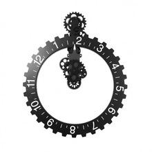 妙刻挂钟大气欧式齿轮钟复古经典创意家居机械创意客厅挂件挂表