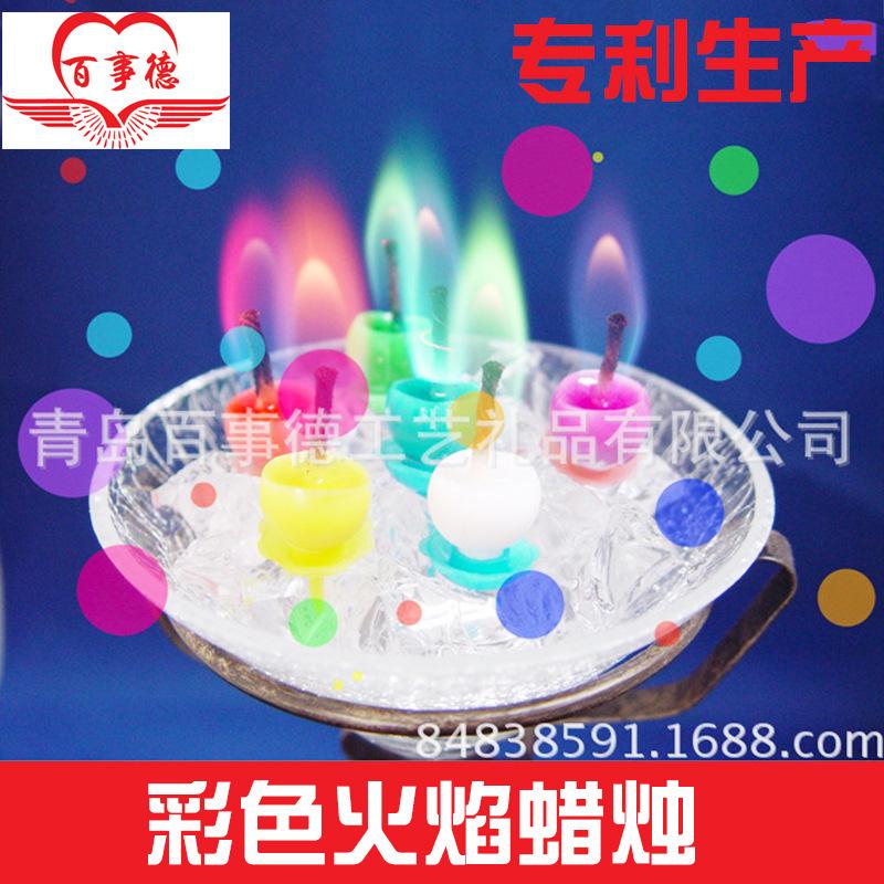 工厂直销批发 创意派对蜡烛派对爱心蜡烛 派对心形小蜡烛