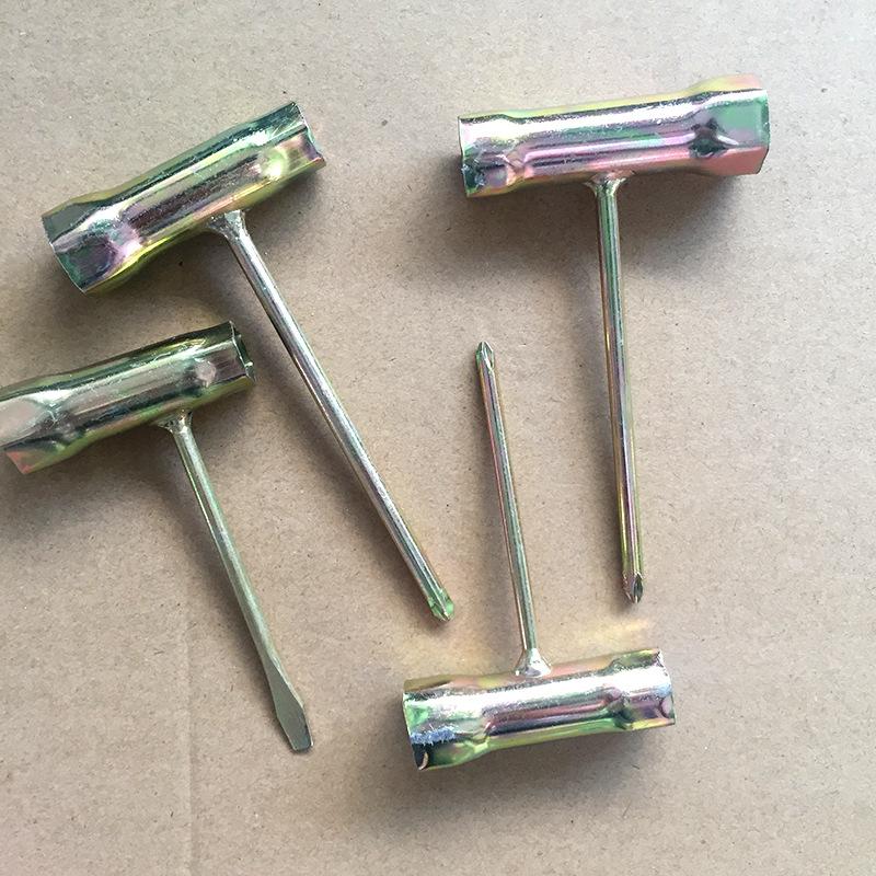 火花塞套筒 直销油锯割草机套筒 摩托车工具套筒十字一字焊接套筒