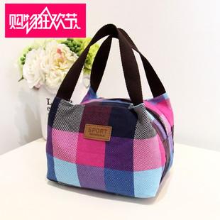 New Korean canvas, new small fresh handbags, fashion ladies handbags, all-match women's mommy bags