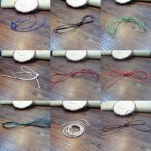 韩国蜡线1.0cm200码卷编织绳子手链编织材料配件批发多色 弹力线