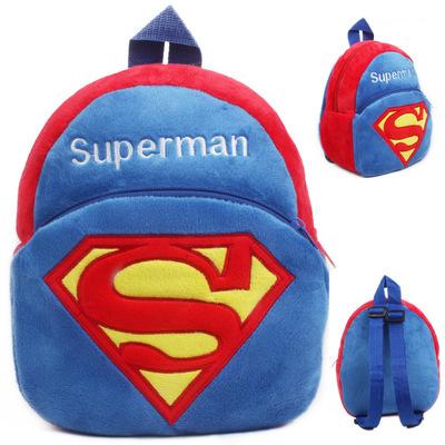 可爱小超人宝宝早教园小书包1-2岁宝宝书包婴儿书包儿童卡通书包