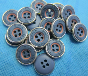 Factory direct sales resin copper edging buttons, casual clothes jeans jeans button buttons