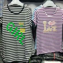 新款中老年女裝夏裝 廠家直銷女式短袖t恤批發 地攤貨源大碼上衣
