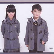 廠家定制小學生冬季校服大衣定做校服學生裝貴仕嘉成制衣