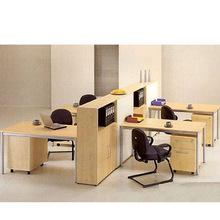 北京办公家具简约现代电脑桌 时尚卡位 公司职员书桌 办公桌定做