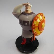 东莞礼品厂家专业定做 PVC注塑玩具 陆战队模型 盾牌公仔