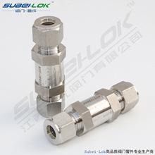 供应OD1/2气体卡套单向阀 不锈钢高压卡套单向阀(OD12.7)