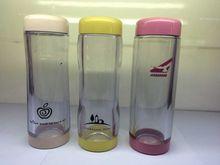 健牌小玲瓏口杯富光 水杯迷你茶杯女士兒童有蓋簡約塑料隨手杯