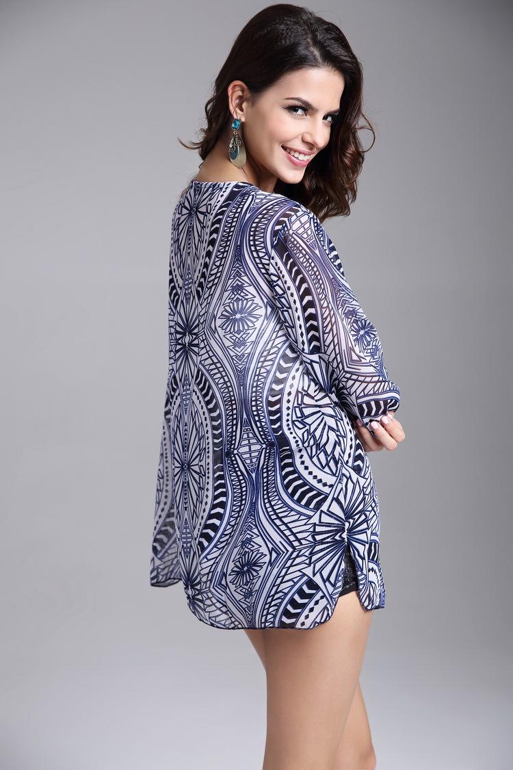 Alloy FashionLarge Women(Blue - Extra large size) NHDF0282-Blue - Extra large size