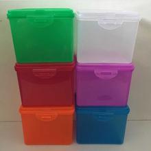 密封塑料盒翻蓋塑料包裝盒頭燈包裝盒長方形塑料盒零件盒