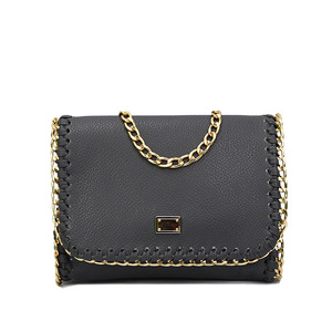 chain small package Europe and the United States single shoulder slope across bag lady
