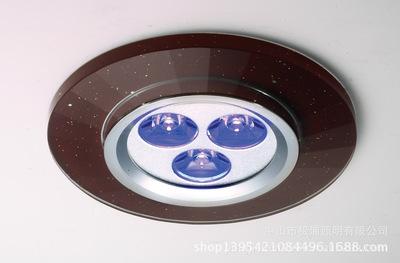 热销LED水晶天花led出口射灯过道走廊灯 疯狂抢购