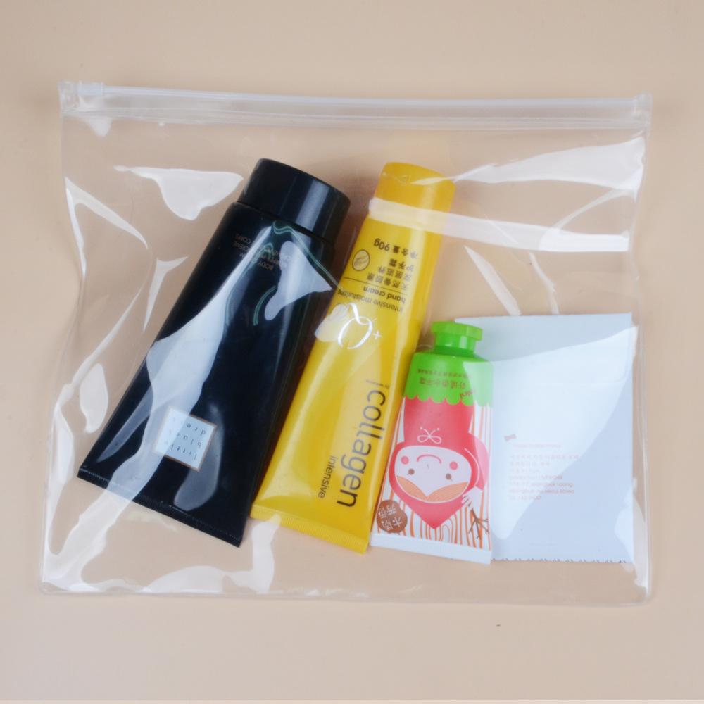 现货批发PVC拉链袋 eva内衣袋 透明化妆品包装袋 塑料收纳铅笔袋