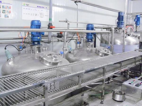 汁囊胞生产线汁胞调配系统