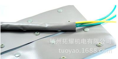 阻燃扣式结束带 电线捆绑带卷式束线带WB/WBS-140/PC-160 扣距140