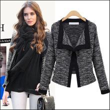 速卖通Ebay爆款欧美女装秋季新款时尚长袖开衫小西装小外套短外套
