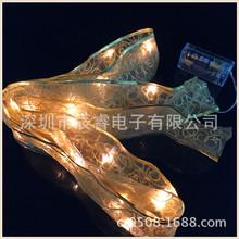 新款 丝带铜线灯 缎带灯串 蝴蝶结灯串 铜丝灯串 圣诞灯