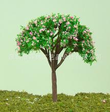 沙盘模型树 生态瓶微景  迷你娃娃屋 仿真背景植物 球树-D4