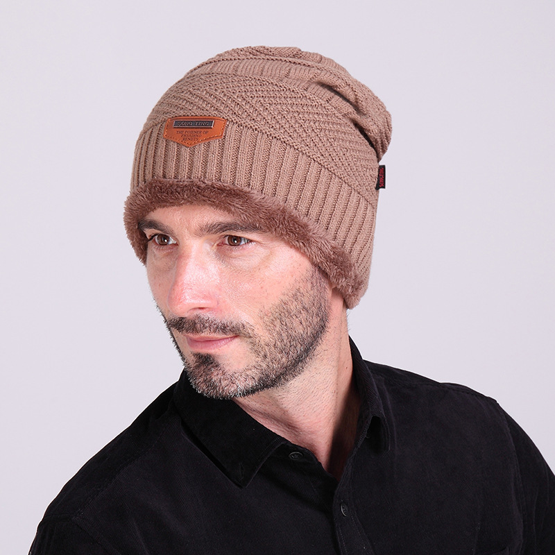 2018 Fashion Bonnet Gorros Caps For Men Women Thick Winter Beanie ... 55a9ca7af62