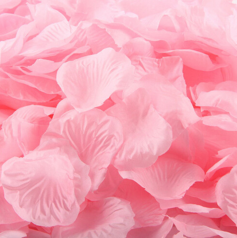Petals silk rose flower petals emulation flower, Rose petals scattered, wedding flower petals