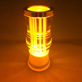 Acrylic bar lamp red wire bamboo section charging candlestick charging bar KTV luminous products