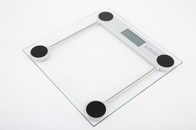 永康电子称 透明玻璃电子体重秤 便携式电子称/称体重