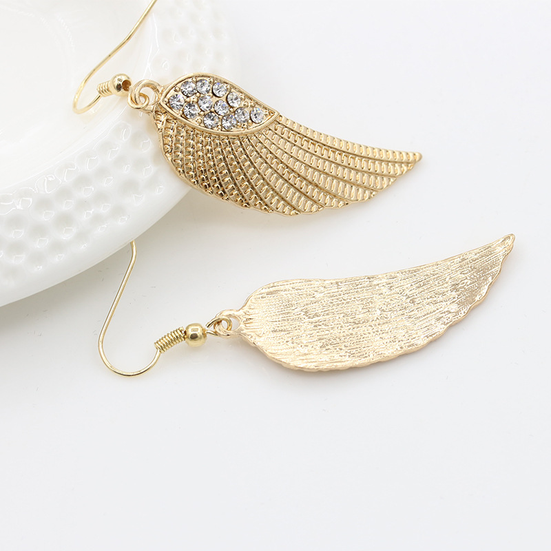 Fashion Angel Angel Wing Earring Jewelry Wholesale NHDP197160