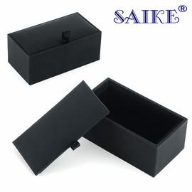 Exquisite rectangular cufflink box high-grade cufflink packing box black cufflink box cufflink box