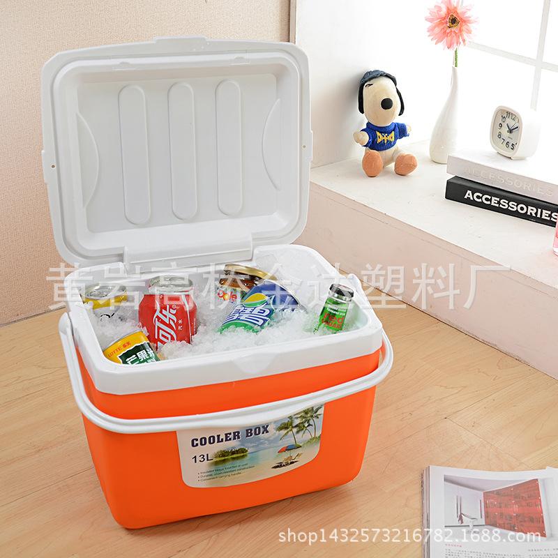 厂家直销车载家用外卖保温箱冷藏箱 便携户外保鲜箱 钓鱼超大26L
