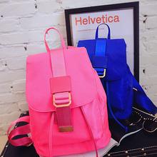 2016时尚欧美新款背包双肩女包大货供应抽带休闲旅行大学生书包