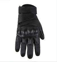 外贸新款真皮手套防刀割凯夫拉户外战术手套原单尾货特价手套