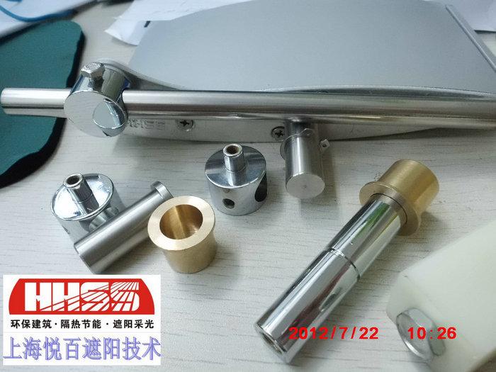 铝百叶材料及配件